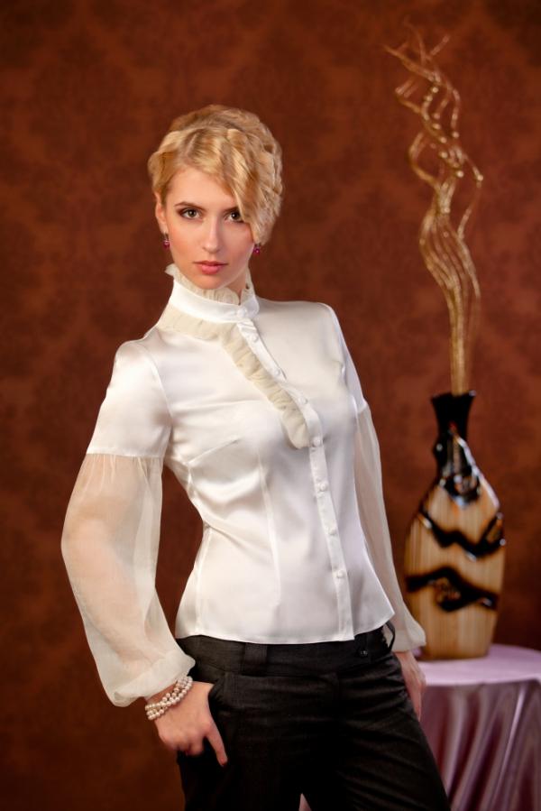 dcbbeff749a7b12 Кофты и Блузки! — Белая блузка для офиса с доставкой